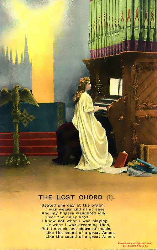 The Lost Chord Postcard Number 1